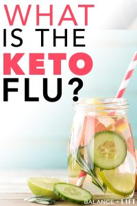 Everyone dreads the keto flu when they start researching how to start a ketogenic diet. But, it's not a long-lasting thing and is very easily beaten. Check this post out to learn what the keto flu is and how you can beat it.