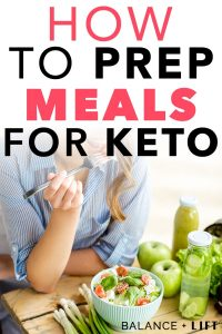 Get started today and create your keto meal plan without being overwhelmed. Know ahead of time how many carbs are in each meal with this method.