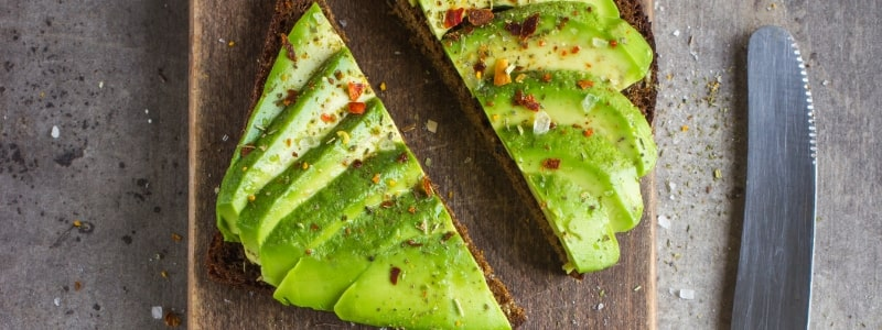 image of avocado on toast