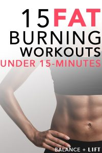 In less time than it takes you to get your coffee at Starbucks you could be burning massive amounts of calories. Check out these intense fat burning workouts and get your sweat on!