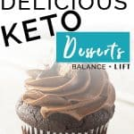 If you're looking for some seriously delicious deserts check out this post. Keto desserts are nothing to shake a stick out. They're delicious and help keep you in ketosis.