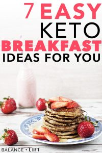 Here's some keto breakfast ideas to add to your meal plan. These keto recipes are easy and quick to make.