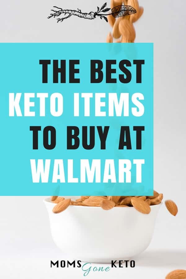 Looking for the best keto items to buy at Walmart? I've put together a decent list here to get you started.