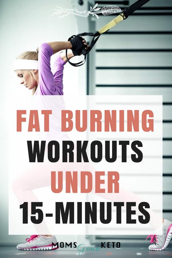 If you don't have time for an hour long workout don't worry. These 15 killer fat burning workouts have you covered.
