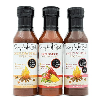 image of simple girl barbecue sauce