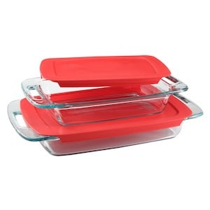 Image of pyrex baking dishes