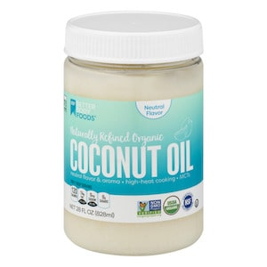 better body foods naturally refined organic coconut oil