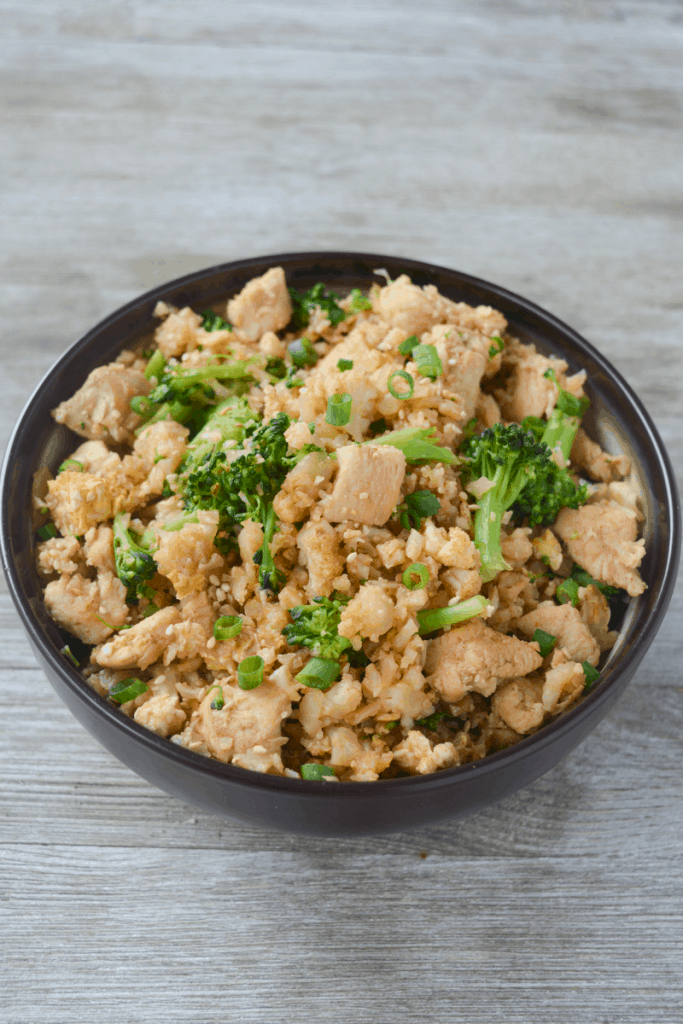 keto fried cauliflower rice