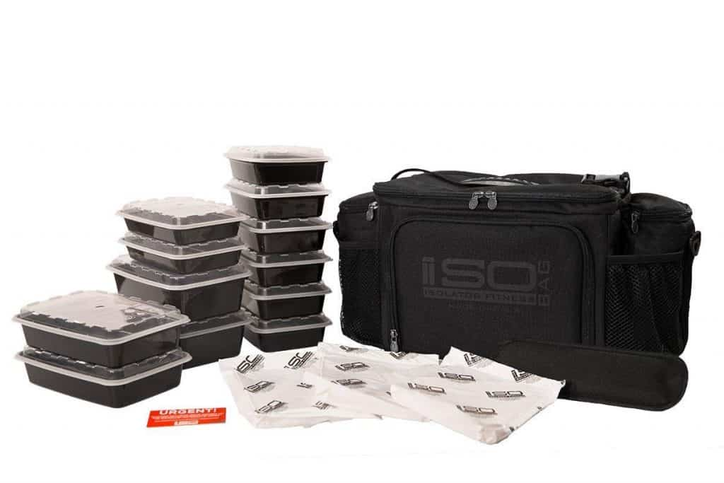 isolator meal prep bag system