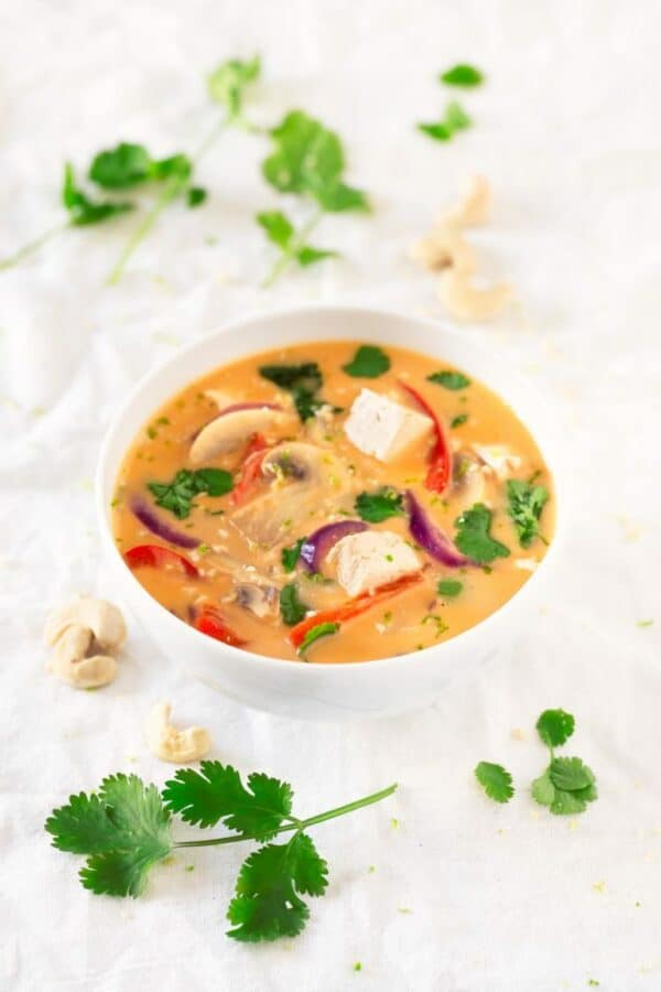 vegan keto thai soup