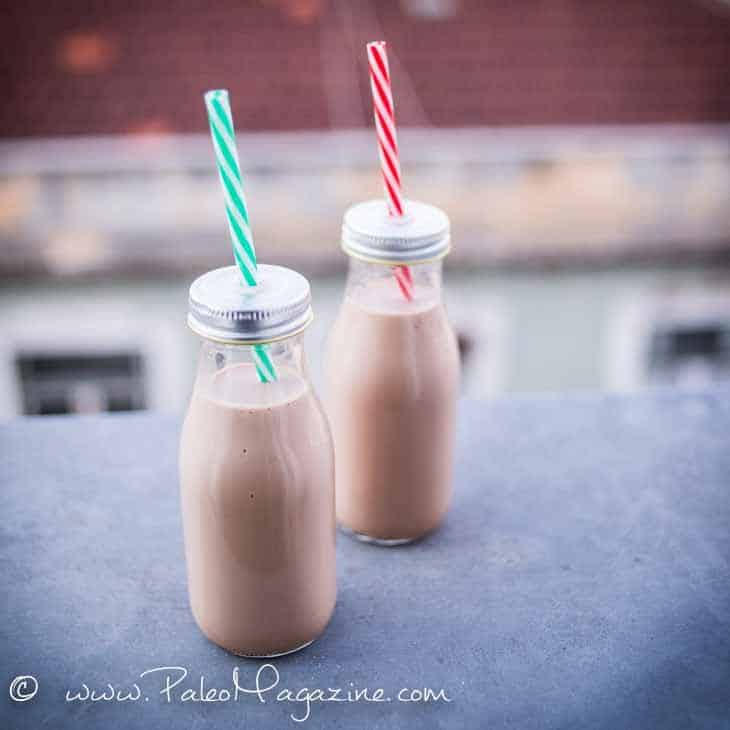vegan keto chocolate smoothie