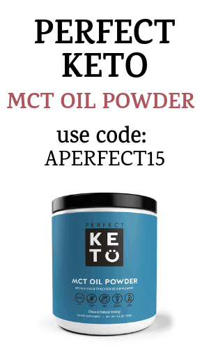 perfect keto mct oil powder with coupon