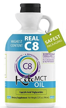 Real C8 Keto MCT Oil