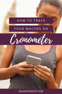 woman on her phone - how to calculate macros