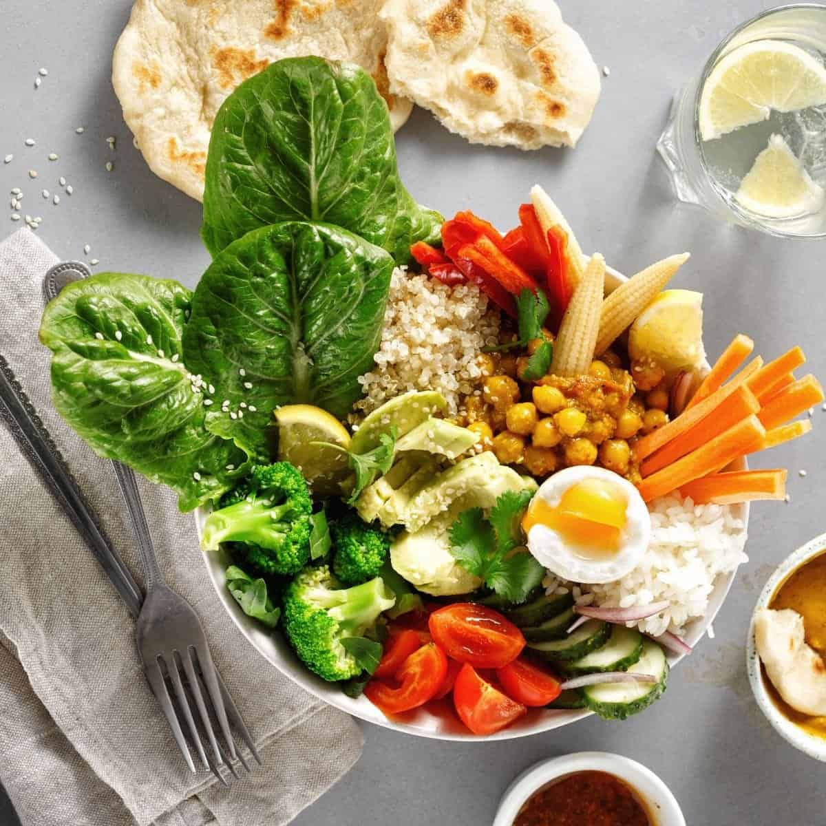 salad bowl – meal prep grocery guide