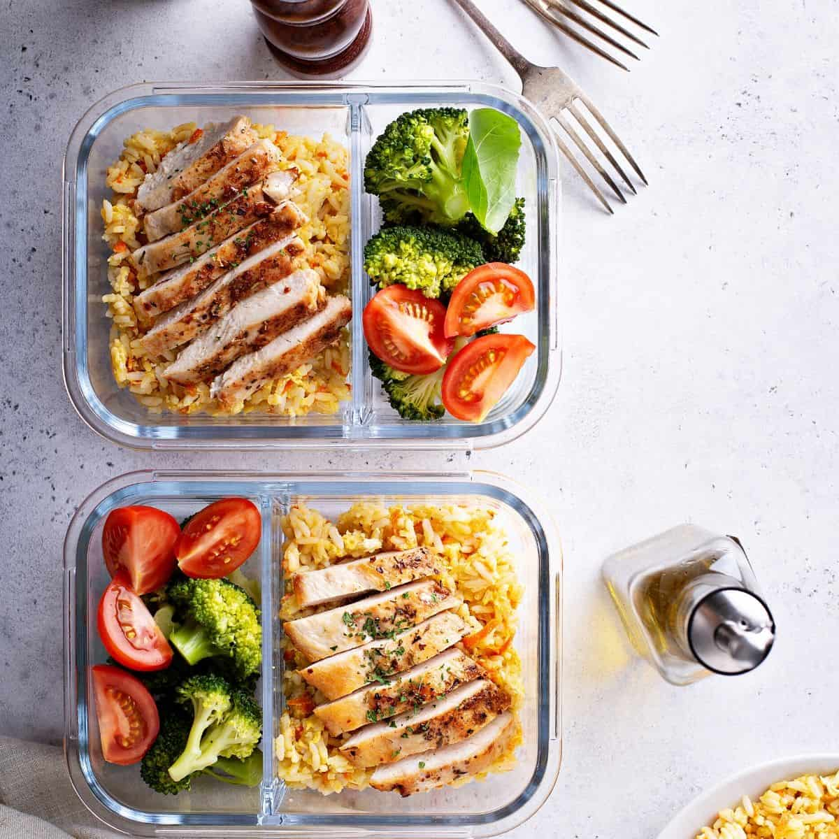 meal prep lunch idea