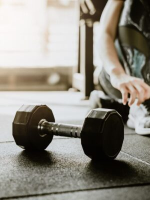 personal training – dumbbels