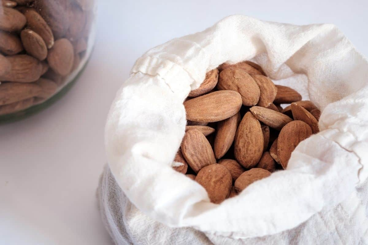 almonds for making homemade nut flour